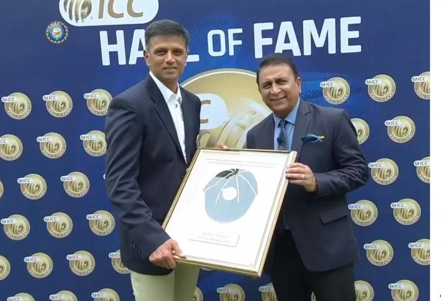 Rahul Dravid,Rahul Dravid ICC Hall of Fame,ICC Hall of Fame,ICC Hall of Fame 2018,Rahul Dravid honoured with ICC Hall of Fame