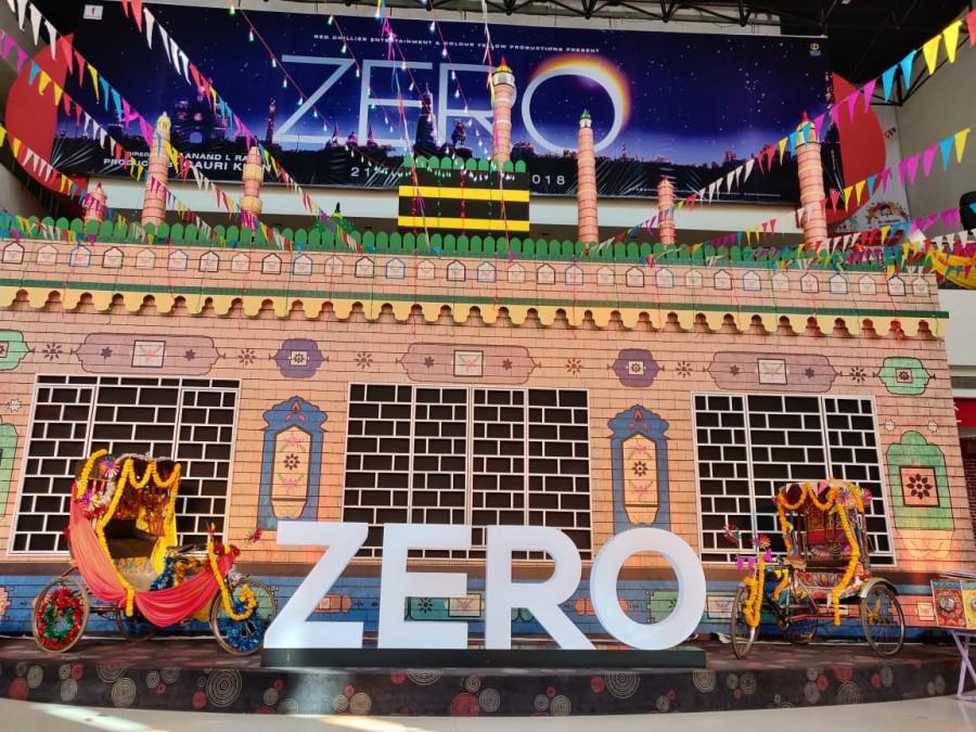 Zero trailer launch,Zero trailer,Zero trailer launch pics,Zero trailer launch images,Zero trailer launch stills,Shah Rukh Khan,Shah Rukh Khan birthday,SRK birthday,Shah Rukh Khan zero