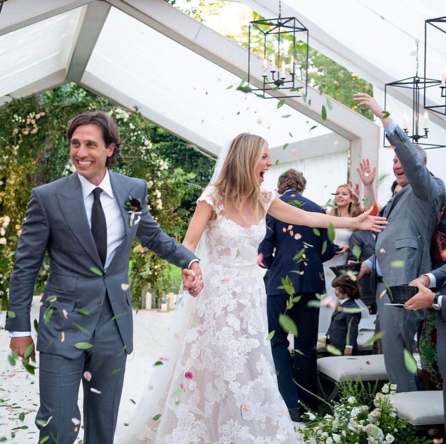 Gwyneth Paltrow,Gwyneth Paltrow wedding,Gwyneth Paltrow marriage,Gwyneth Paltrow weds Brad Falchuk,Brad Falchuk,Brad Falchuk wedding,Brad Falchuk marriage