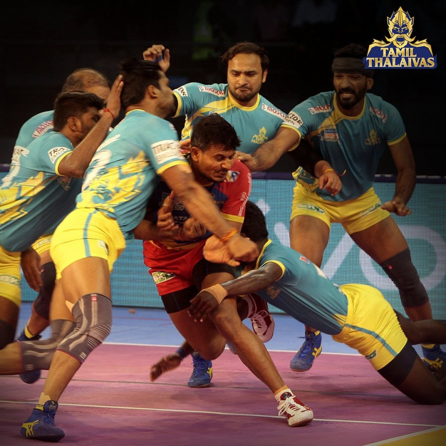 Pro Kabaddi League,Pro Kabaddi League 2018,Tamil Thalaivas beat UP Yoddha,Tamil Thalaivas,UP Yoddha
