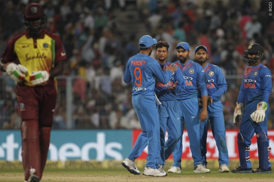 Ind vs WI,1st T20I,Karthik,Kuldeep,India beat West Indies,India vs West Indies,India beat West Indies T20,Kuldeep Yadav