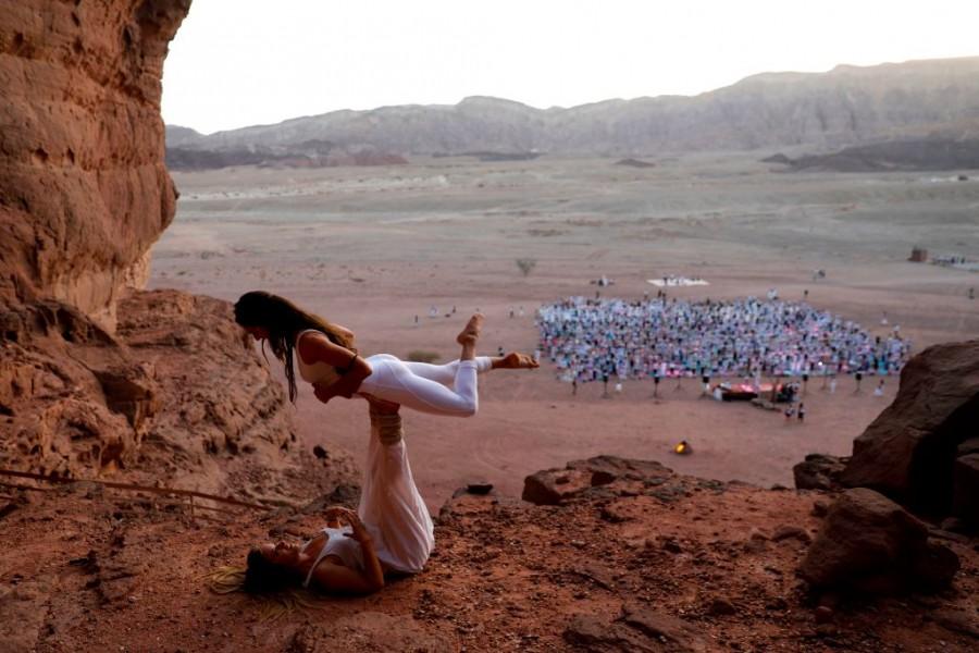 Israel Yoga,Israeli Yoga,yoga,Yoga day,Arava Yoga Festival,Timna Valley,Yoga In Israel,Health and Yoga