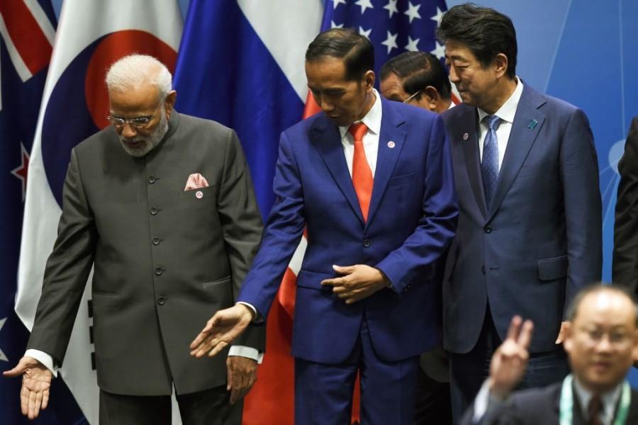 Narendra Modi,13th East Asia Summit,33rd Association of Southeast Asian Nations (ASEAN) summit,Nguyen Xuan Phuc,Moon Jae-in,Rodrigo Duterte,Jacinda Ardern,Aung San Suu Kyi
