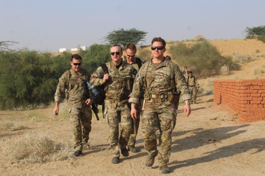 Military exercise,Indian military drills,Us And India,US and India Military Drill,Indian Army,US Army,Special Forces,Military Exercise in Jaipur
