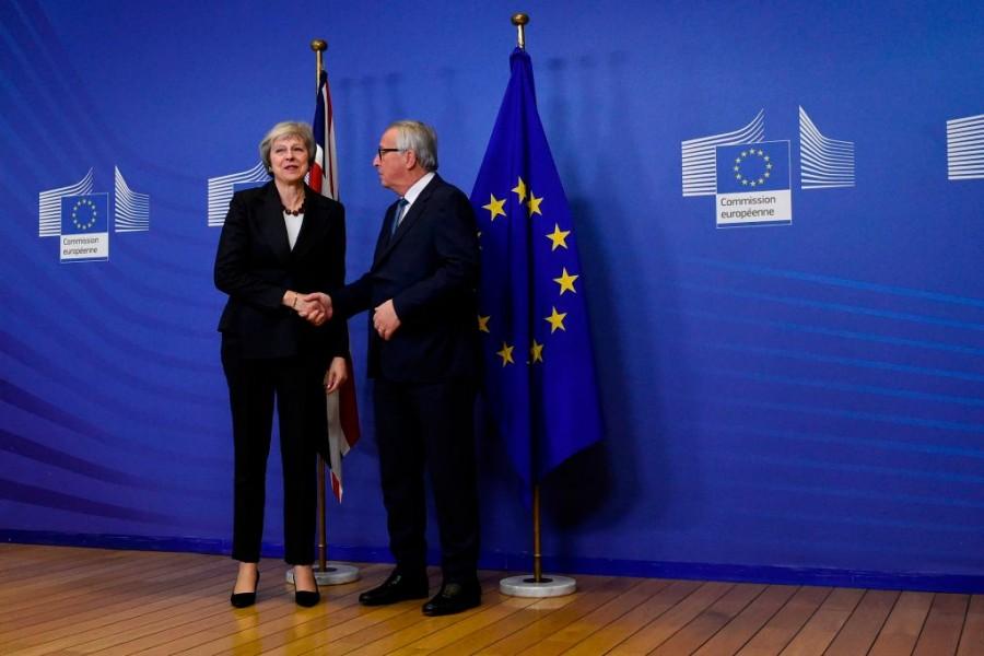 Theresa May,Theresa May Brexit,Theresa May Brexit speech,Theresa May Belgium Visit,European Union,Jean Claude Juncker,Brexit,brexit impact