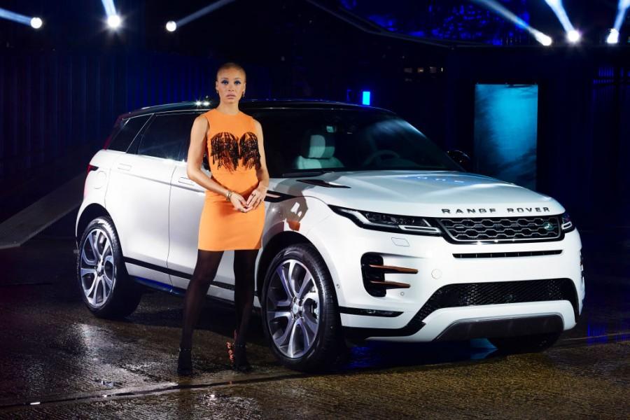 Land Rover,Adwoa Aboah,Range Rover,Jaguar Land Rover,Jaguar Land Rover India,London,Range Rover Evoque,land rover range rover