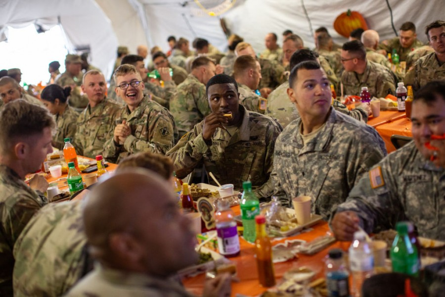 US Army,texas rangers,US Mexico border,Mexican border wall,thanksgiving,Thanksgiving Day,thanksgiving 2018,US President Donald Trump