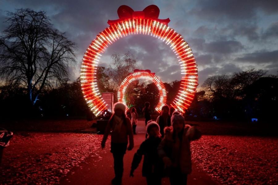 Kew Gardens,Britain,London,Kew Garden London,Christmas,Christmas 2018,Christmas at Kew Gardens,christmas celebrations,Christmas lights