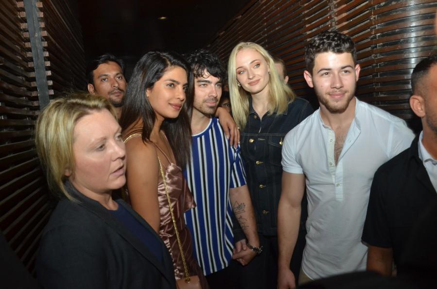 Nick Jonas Priyanka Chopra relationship,Nick Jonas Priyanka Chopra engaged,nick jonas priyanka chopra wedding,joe jonas and sophie turner,Sophie turner in Mumbai,Game of thrones,Jonas Brothers