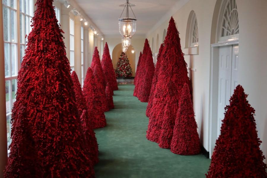 White House,White house christmas,White House Christmas tree,White House Decor,decorations,Christmas Decorations,President Trump,American Treasures