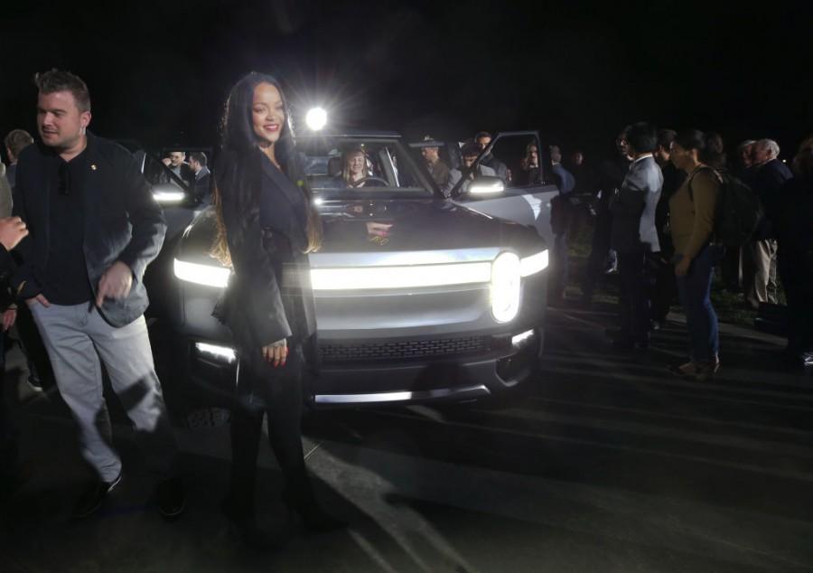 Rivian,All-Electric,Electric Pickup Truck,R1T,LA Auto Show,Rivian CEO RJ Scaringe,RJ Scaringe,Griffith Observatory,Los Angeles