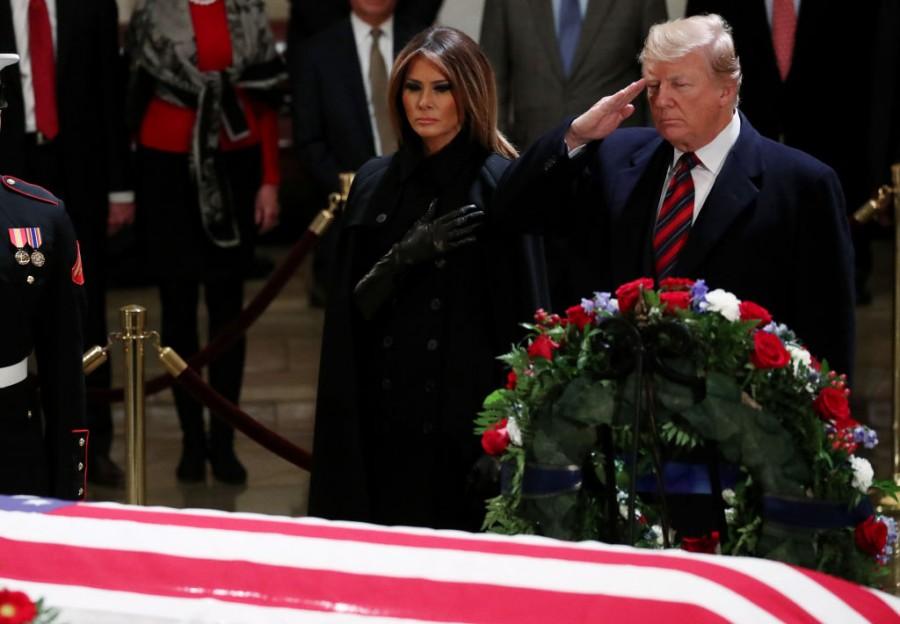 George H.W. Bush,George HW Bush died,41st president of america,US Congress,CIA,US President Donald Trump,George Bush,United States
