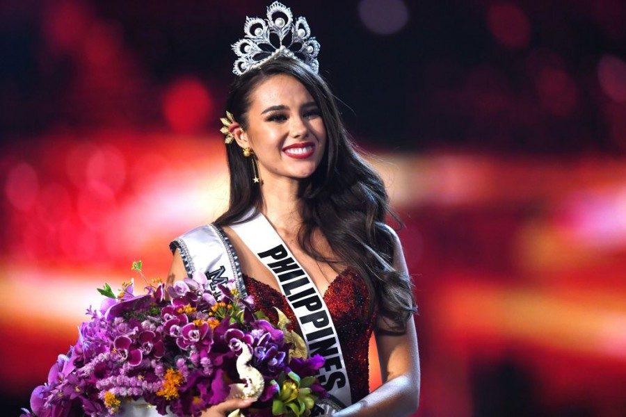 Catriona Gray,Miss philippines,miss Philippines Catriona Gray,Miss philippines winner,Miss Philippines 2018 winner Catriona Gray,Miss universe 2018,Miss Universe 2018 Mumbai girl Nehal Chudasama,miss universe 2018 finale