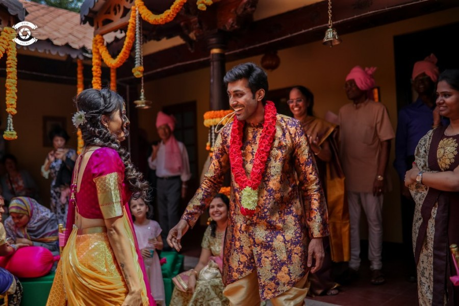 Rishi,rishi wedding photos,kannada actor rishi,rishi wedding,kannada celebrity wedding,rj nethra