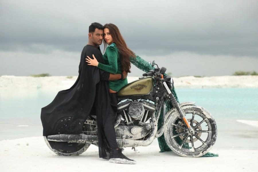 Vishal,vishal krishna,action,action movie stills,vishal action,tamannaah bhatia action