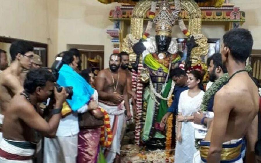 Nayanthara,nayanthara christian,nayanthara converts hindu,nayanthara temple visits,vignesh shivan