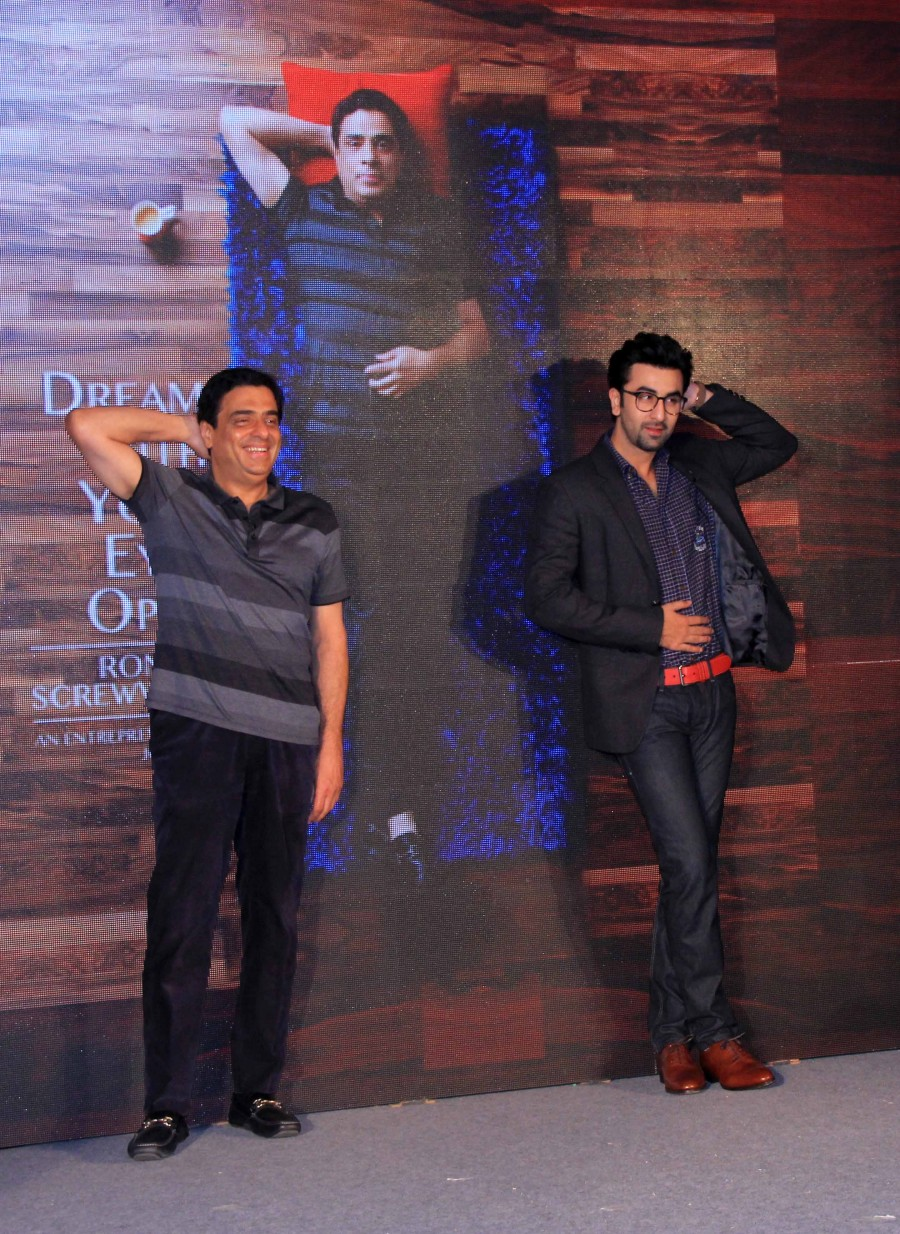 Ranbir kapoor,ronnie screwvala,Dream With Your Eyes,entertainment entrepreneur,photos,book launch