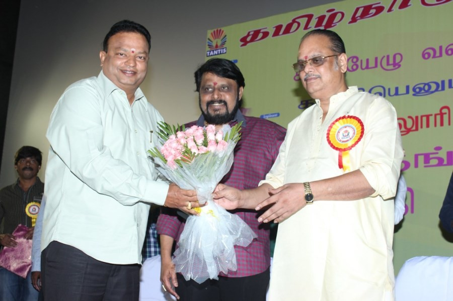 TANTIS,Tantis press meet,k. s. ravikumar,vikraman,ponvannan,tamilnadu film directors association press meet,a. l. vijay,tamil event,event