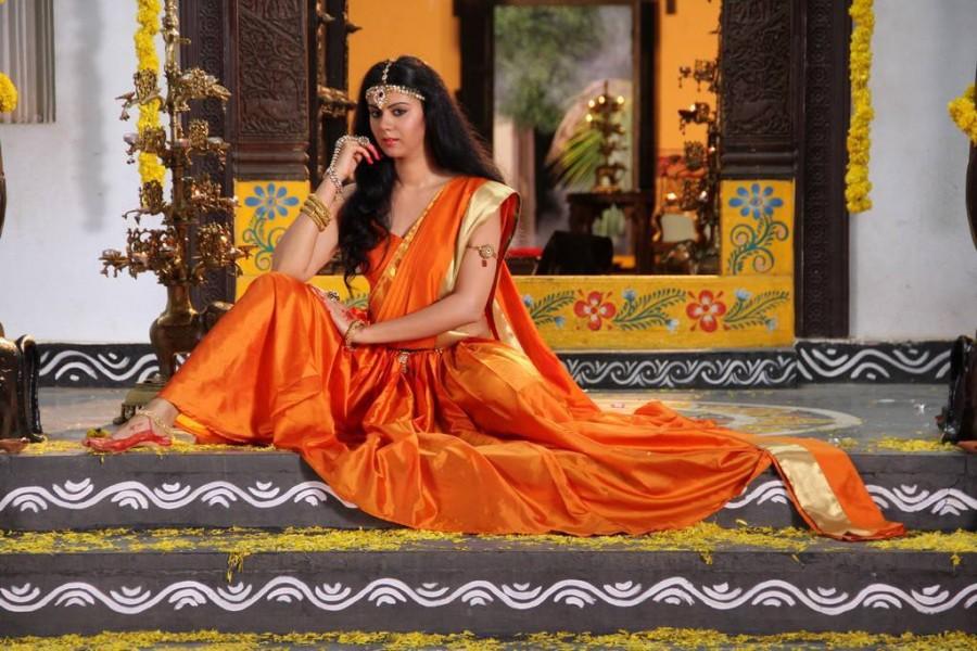 South Indian actress Kamna Jetmalani Stills from Chandrika Movie