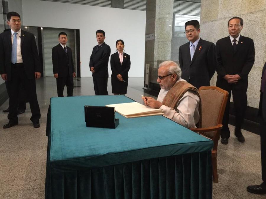 Narendra Modi,PM Narendra Modi begins his 3 Day China Tour,Narendra Modi in china,Narendra Modi reached china,Xi Jinping,Chinese President Xi Jinping,Prime Minister Narendra Modi,indian Prime Minister Narendra Modi,Indian Prime Minister Narendra Modi,PM N