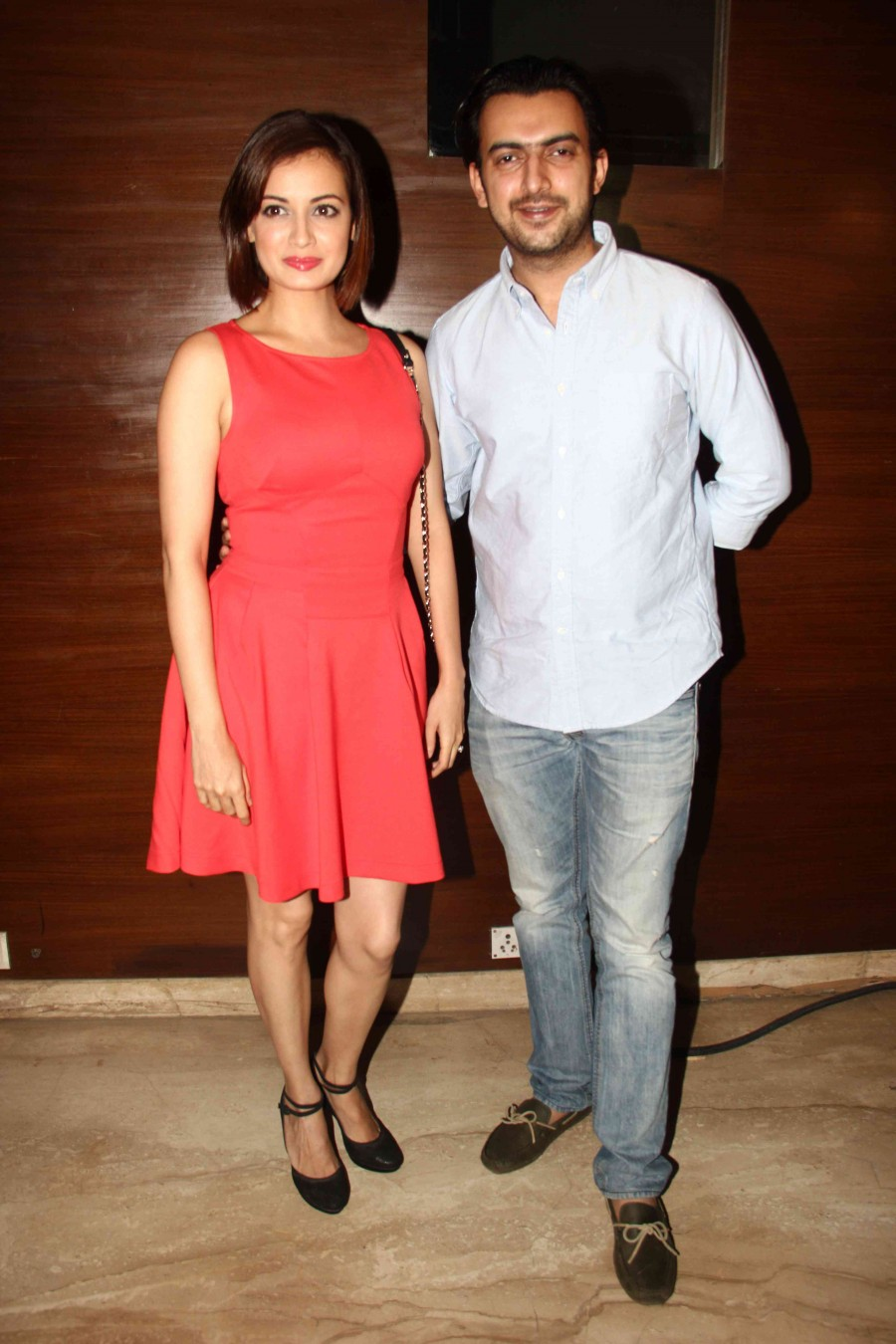 Dia mirza,dia mirza latest photos,dia mirza photos,nirbaak,nirbaak special screening,sushmita sen