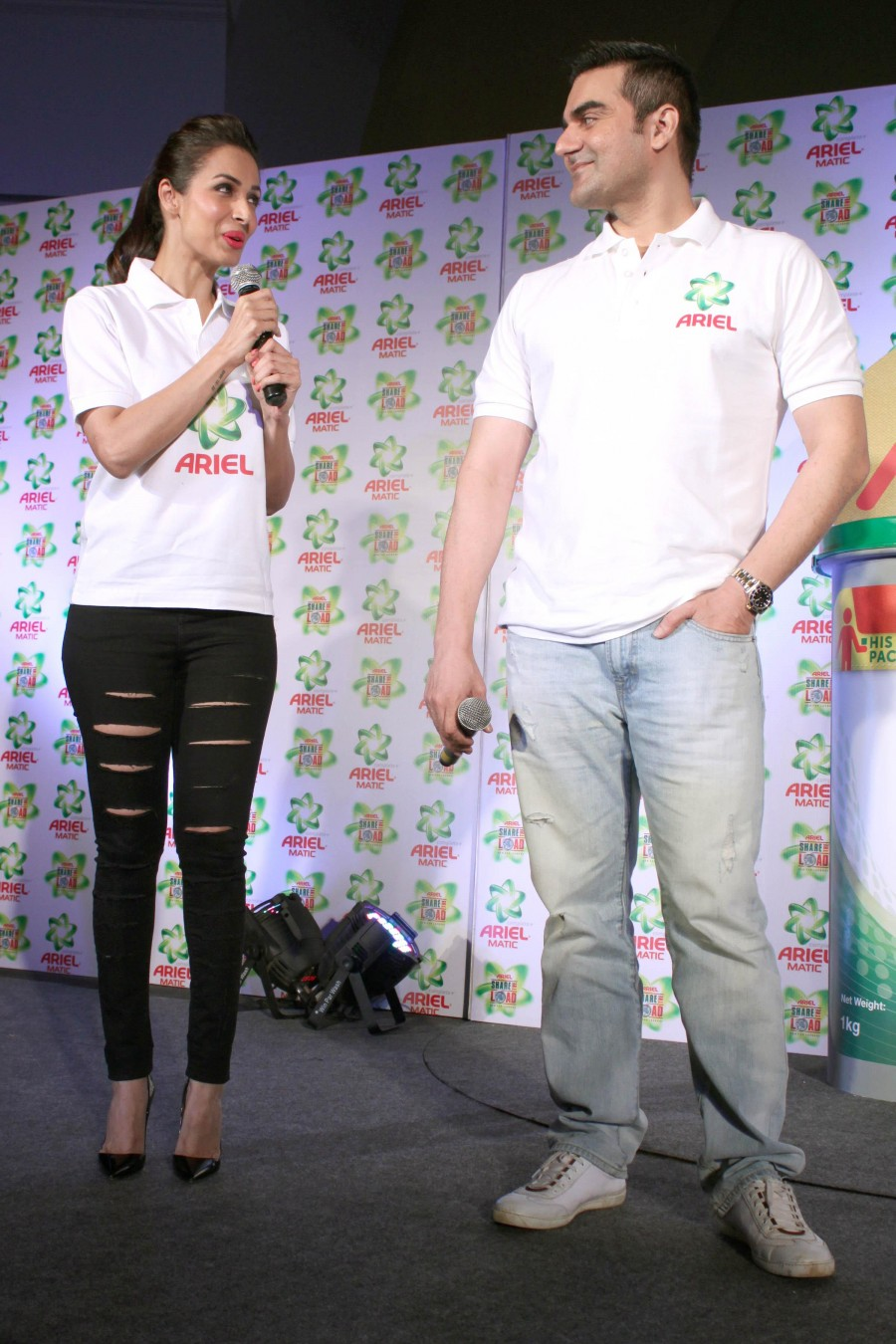 Arbaaz khan,Malaika arora khan,Tips for happy married life,Ariel detergent,Washing tips
