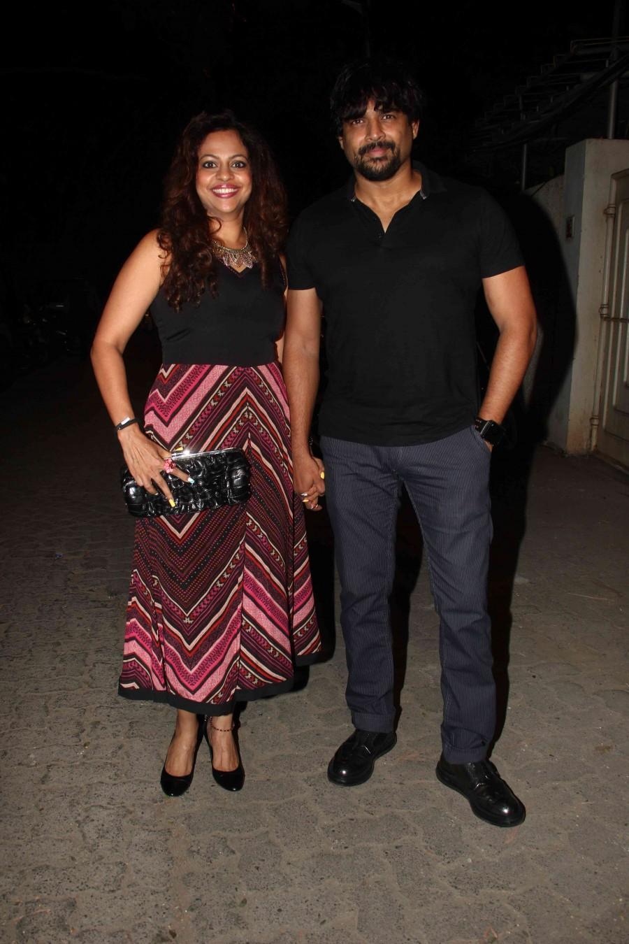 Tanu Weds Manu Returns,Tanu Weds Manu Returns photos,Tanu Weds Manu Returns success bash,Bollywood celebs photos,Kangana Ranaut,Madhavan,Radhika apte
