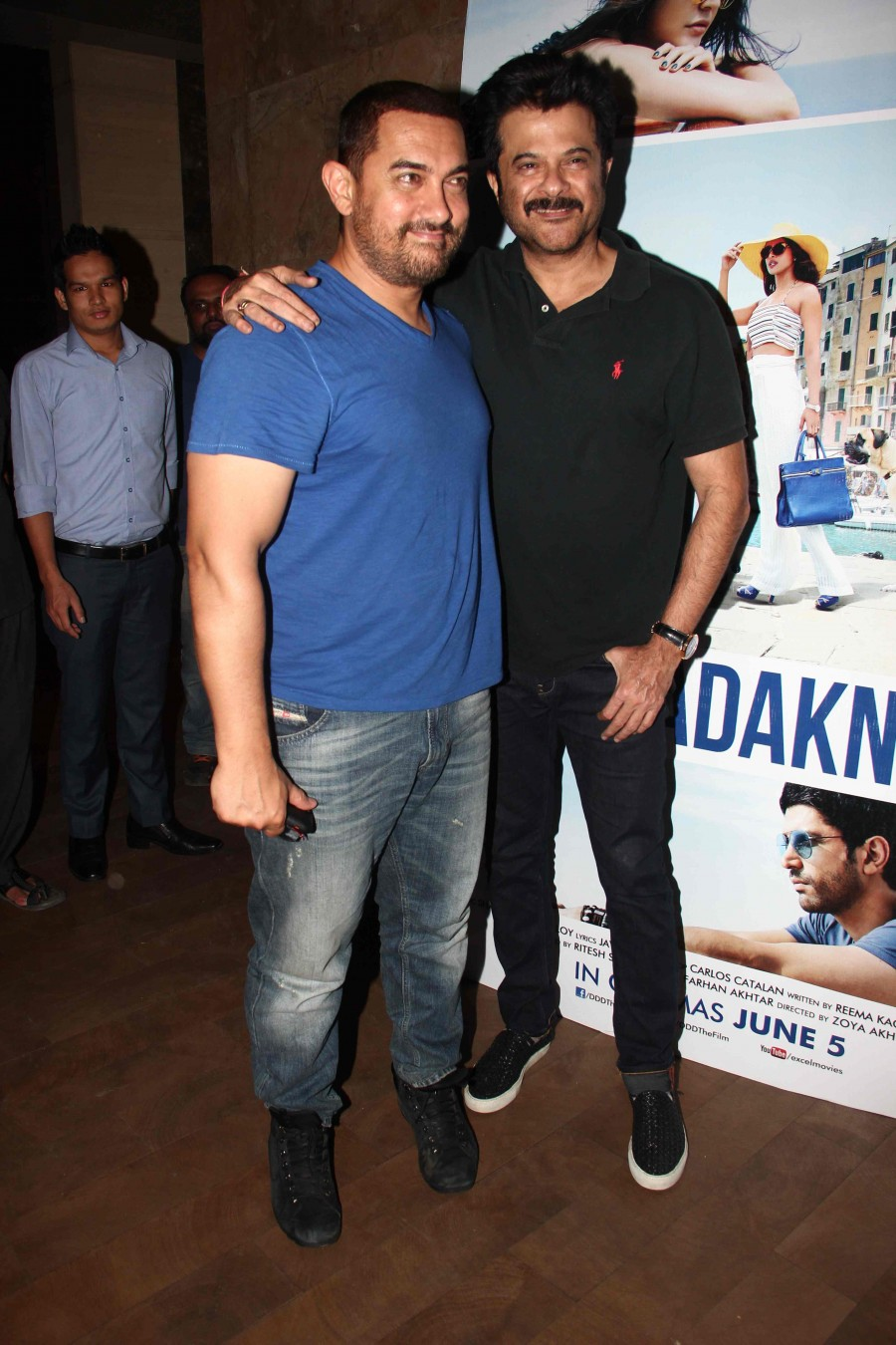Dil Dhadakne Do,Dil Dhadakne Do special screening,Dil Dhadakne Do screening,aamir khan,aamir khan photos,anil kapoor