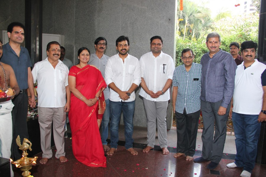 Karthi,Nagarjuna,Shruti haasan,Jayasudha,Karthi nagarjuna film launch,Karthi nagarjuna film launch photos