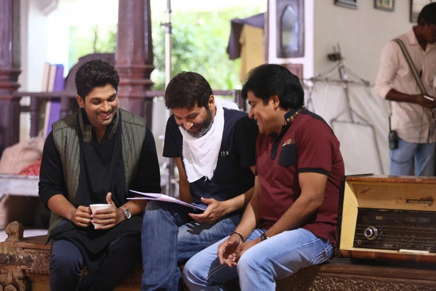 Allu Arjun has gone for an image makeover for