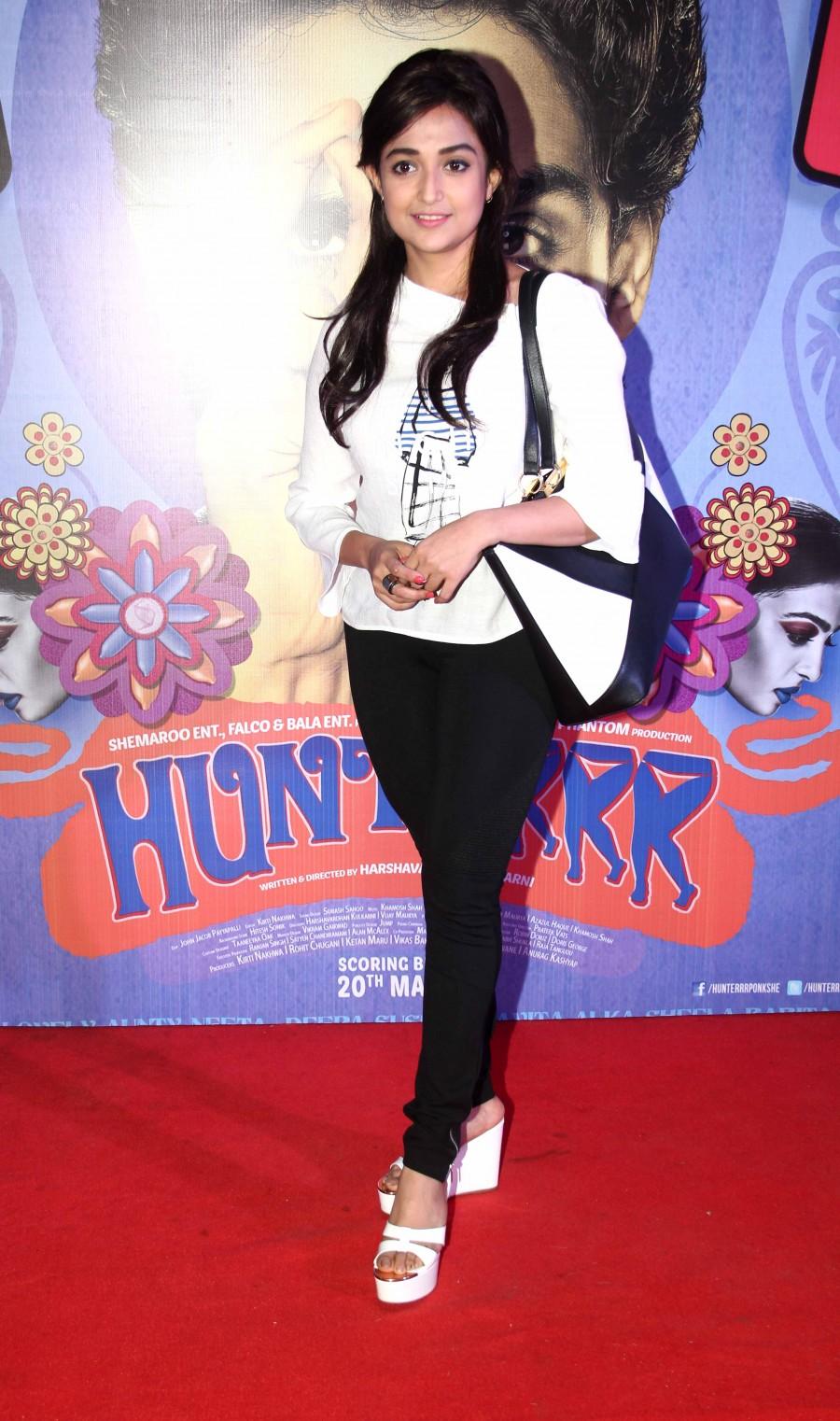Hunterrr,Gulshan Devaiah,Rajkumar Hirani,Radhika Apte,special screening,Richa Chadda,photos