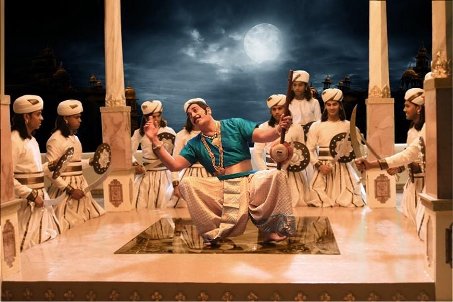 Kamal Haasan stills from Uthama Villain Movie