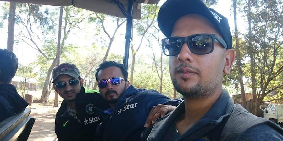Team India outing at wildlife reserve in Zimbabwe,Team India at wildlife reserve in Zimbabwe,Team India,ajinkya rahane,cricket,India vs Zimbabwe,india vs Zimbabwe 2015