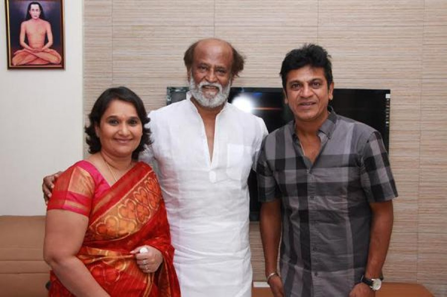 Shivraj Kumar,Rajinikanth,Kamal Hassan,Dhanush,Shivraj Kumar invites Rajinikanth,Kamal Hassan,Dhanush and other tamil celebs to his daughter's wedding,Shivraj Kumar invites tamil celebs to his daughter's wedding,Shivraj Kumar daughter's wed
