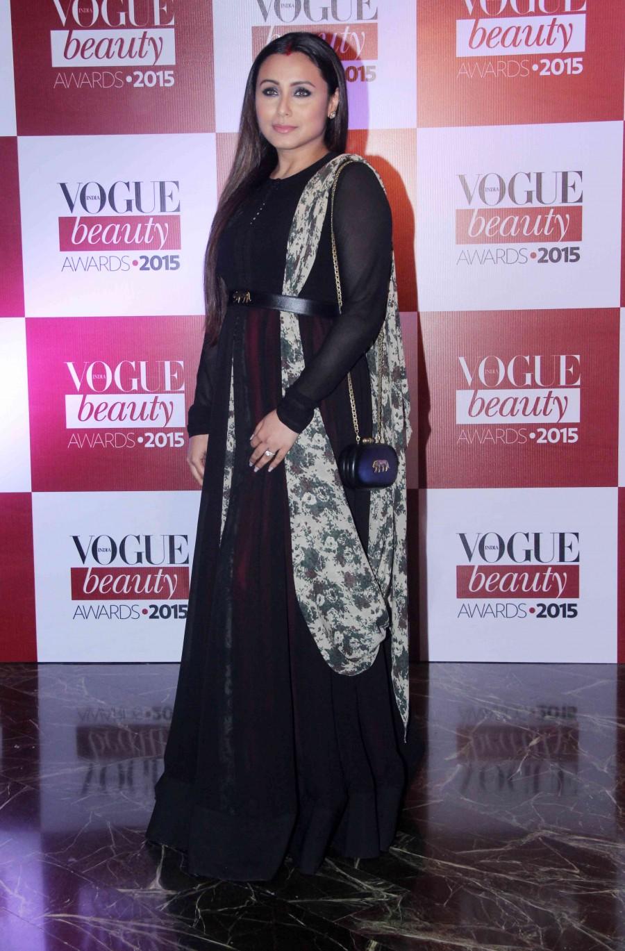 Rani mukerji,vogue beauty awards 2015,rani mukerji red carpet,rani mukherji photos