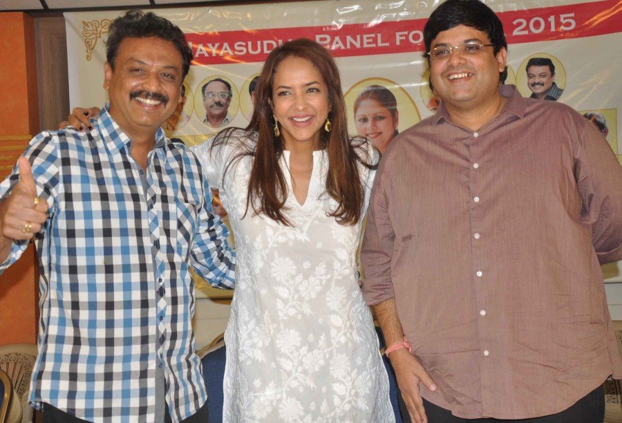 Manchu lakshmi prasanna,Manchulakshmi,Chandamamakathalu,Chandamamakathalu press meet