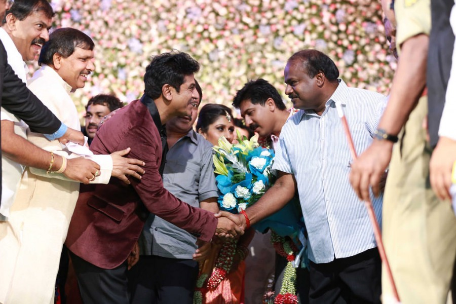 Shivarajkumar daughter Nirupama Wedding Reception,Shivarajkumar,Shivarajkumar daughter Nirupama Reception,Nirupama Reception,Nirupama wedding Reception,wedding Reception,marriage Reception,Nirupama-Dileep Wedding Reception