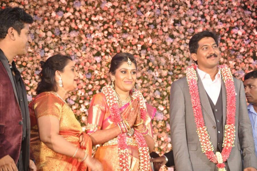 Shivarajkumar daughter Nirupama Wedding Reception,Shivarajkumar,Shivarajkumar daughter Nirupama Reception,Nirupama Reception,Nirupama wedding Reception,wedding Reception,marriage Reception,Nirupama-Dileep Wedding Reception
