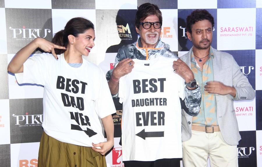 Piku,Deepika Padukone,Amitabh Bachchan,Shoojit Sircar,irrfan khan,trailer launch,photos