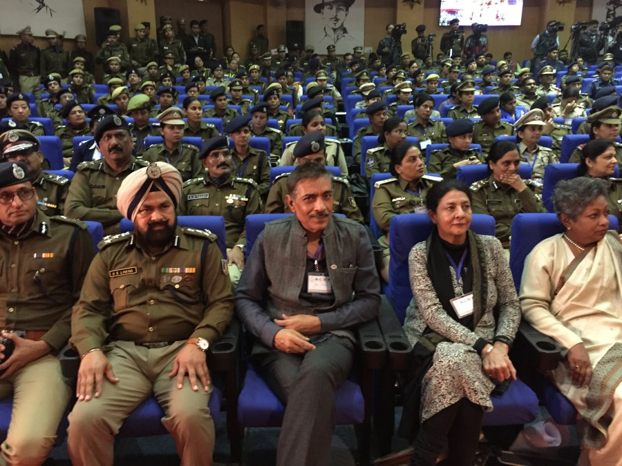 Priyanka Chopra,Jai Gangaajal,Jai Gangaajal trailer,Jai Gangaajal Trailer impresses female cops,Jai Gangaajal impresses female cops,Prakash Jha,7th National Conference of Women in Police,7th National Conference