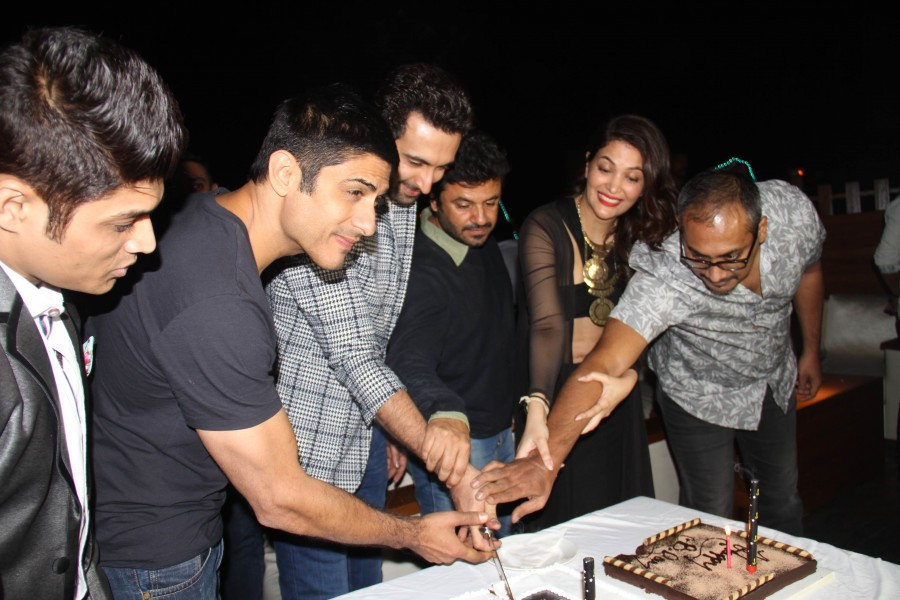 The Launch party of the Ahmedabad Express team in the BCL Season 2 event held in Mumbai.