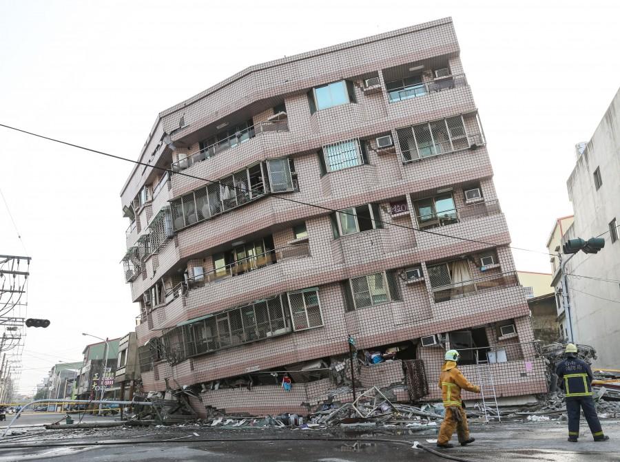 Earthquake Strikes Taiwan,Earthquake inTaiwan,Taiwan,Taiwan Earthquake,southern Taiwan,powerful Earthquake,Taiwan earthquake