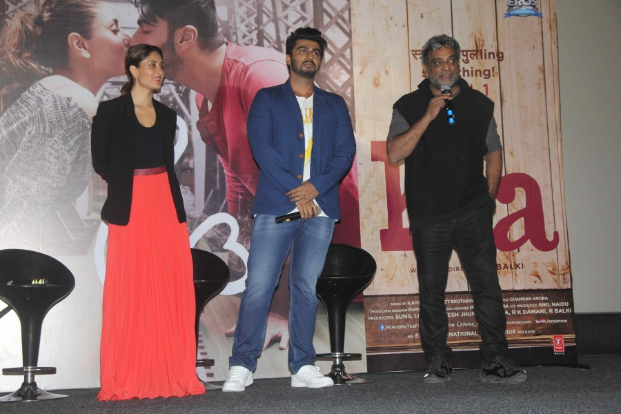 Ki and Ka,Ki and Ka Trailer,Ki and Ka Trailer Launch,Arjun Kapoor,Kareena Kapoor,Arjun Kapoor and Kareena Kapoor,Ki and Ka Trailer Launch pics,Ki and Ka Trailer Launch images,Ki and Ka Trailer Launch photos,Ki and Ka Trailer Launch stills,Ki and Ka Traile