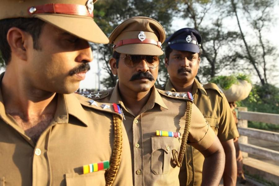 Sethupathi,Vijay Sethupathi,Vijay Sethupathi as cop,Vijay Sethupathi police,Sethupathi movie stills,Sethupathi movie pics,Sethupathi movie images,Sethupathi movie photos,Sethupathi movie pictures,Remya Nambeesan