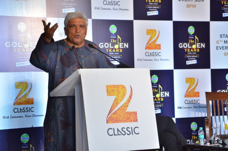 Zee Classic,The Golden Years 1950 - 1975,musical journey with Javed Akhtar,Javed Akhtar,Javed Akhtar to present Zee Classic's new music show,Javed Akhtar returns to Zee Classic with music show