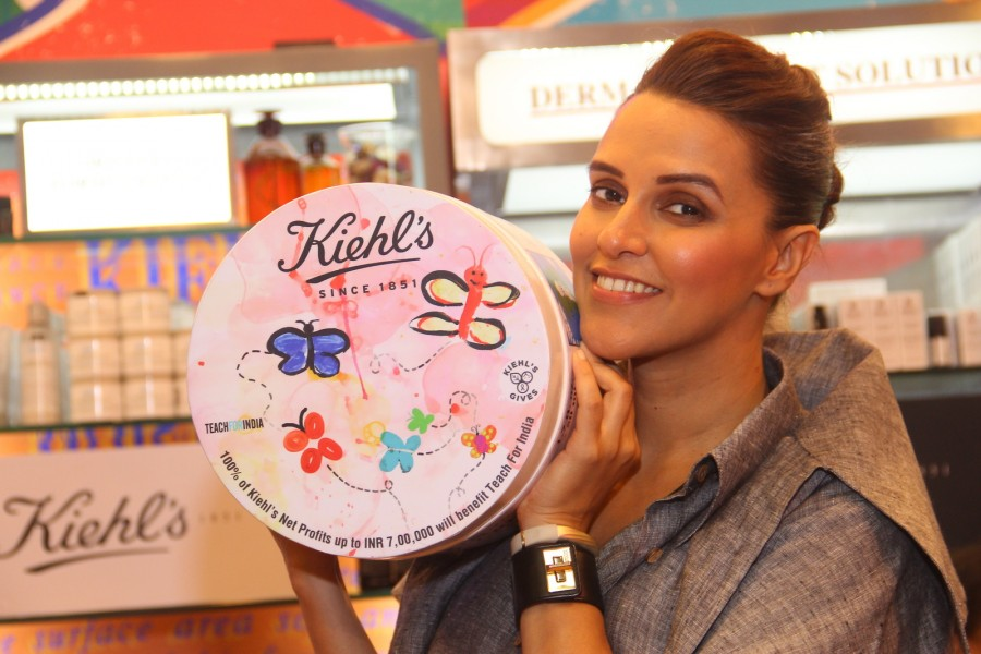 Neha Dhupia,Kiehl,Edition Ultra Facial Cream,Facial Cream,actress Neha Dhupia,bollywood actress Neha Dhupia,Kiehl's launches Limited Edition Ultra Facial Cream