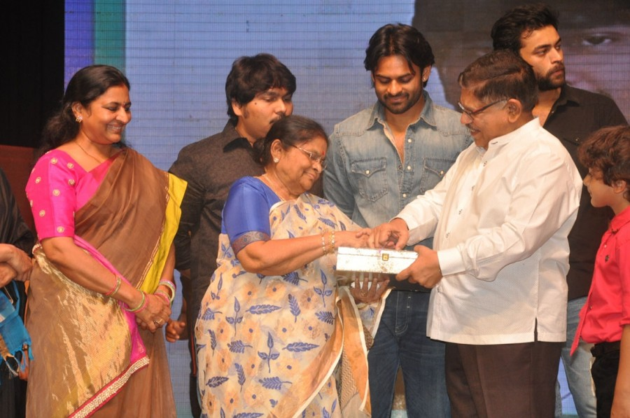 Supreme Movie Audio Release Function held at Hyderabad. Sai Dharam Tej, Raashi Khanna, Nani and others graced the event.
