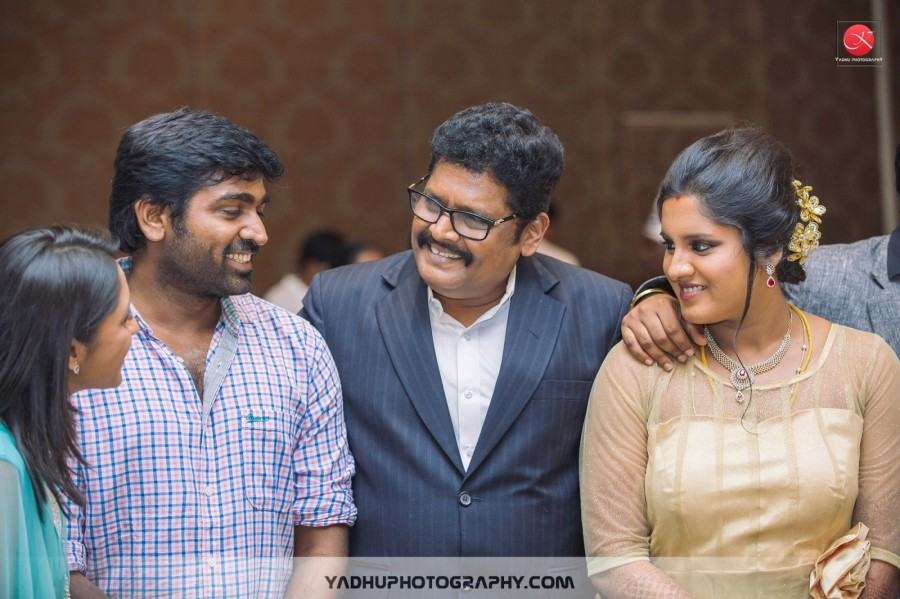 KS Ravikumar daughter Maalica after Marriage Party,Maalica after Marriage Party,Rajinikanth,Hansika Motwani,Vijay Sethupathi,Sivakarthikeyan,Sangeetha Vijay,Atlee,Aarthi,Priya,Maalica and Arjun Krishnan,Arjun Krishnan