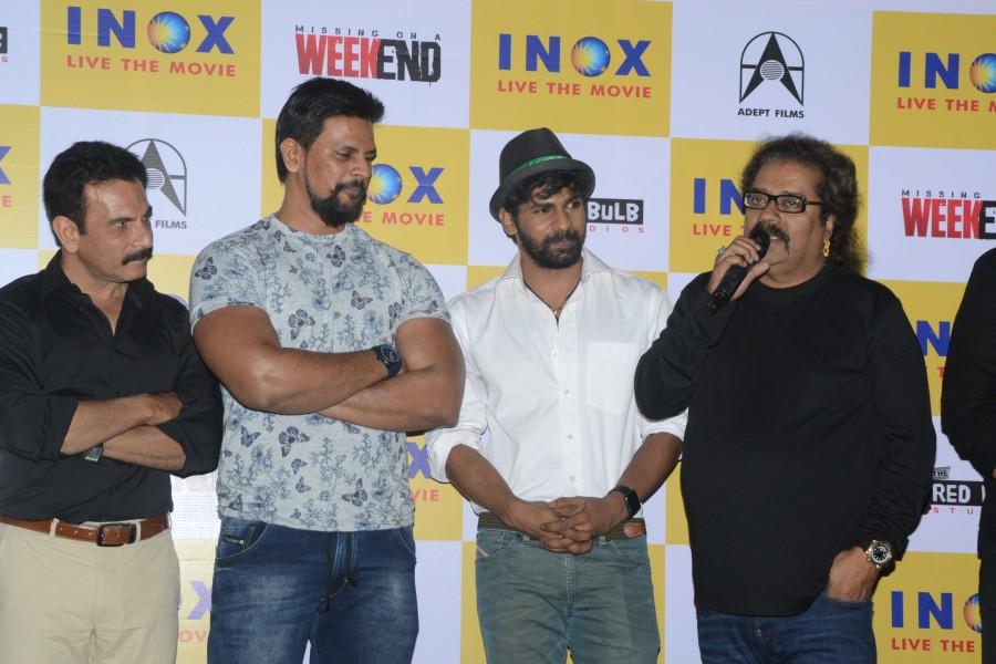 Missing on a Weekend,Missing on a Weekend Trailer Launch,Pavan Malhotra,Abhishek Jawakar,Karan Hariharan,Hariharan,Dishank Arora,Siddhanth Mahajan,Shiva Dagar,Akshay Bhatija,Jyoti Sethi,Poonam Kamal,Missing on a Weekend Trailer Launch pics,Missing on a We