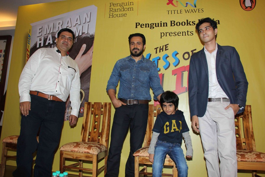 Emraan Hashmi,actor Emraan Hashmi,the kiss of life,the kiss of life book,Emraan Hashmi releases the kiss of life,Emraan Hashmi pics,Emraan Hashmi images,Emraan Hashmi photos,Emraan Hashmi stills,Emraan Hashmi pictures